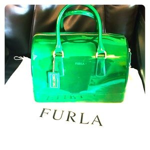 Authentic Beautiful Furla Candy Jelly Bag Tote